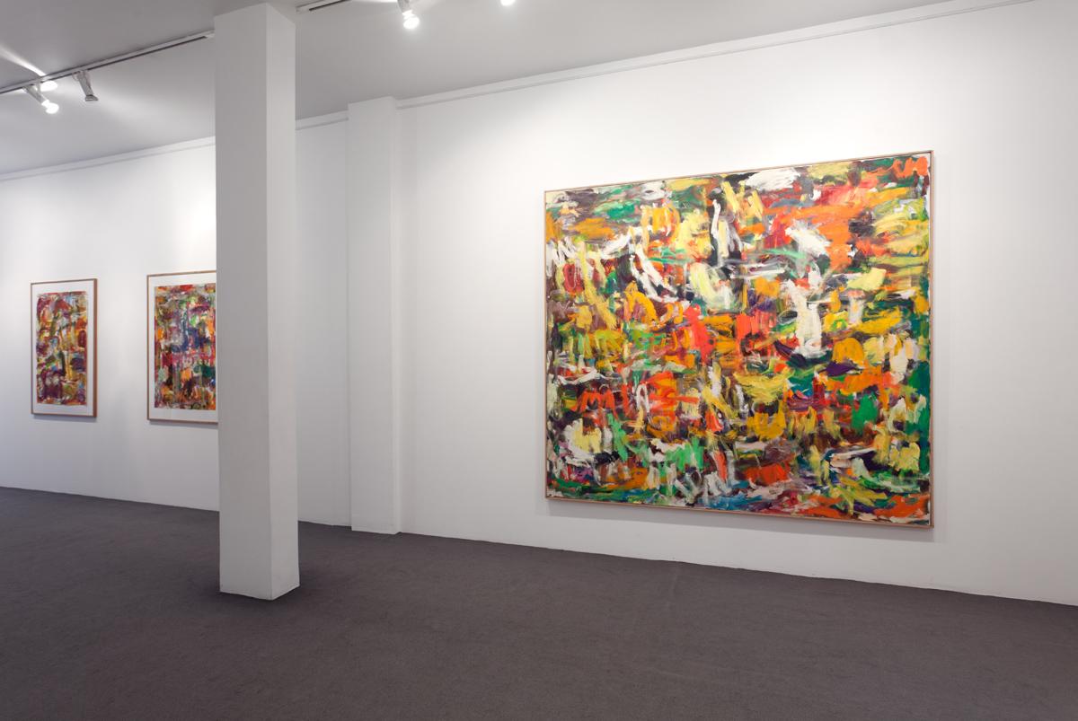 Exposition à la Galerie Brun Léglise, en Mai 2012 à Paris